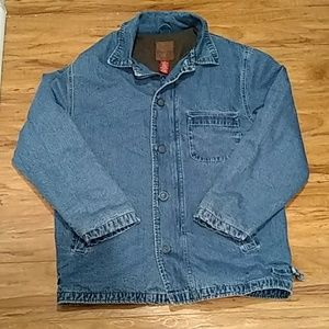 80s Gap Blue Jean Wool Jacket Vintage